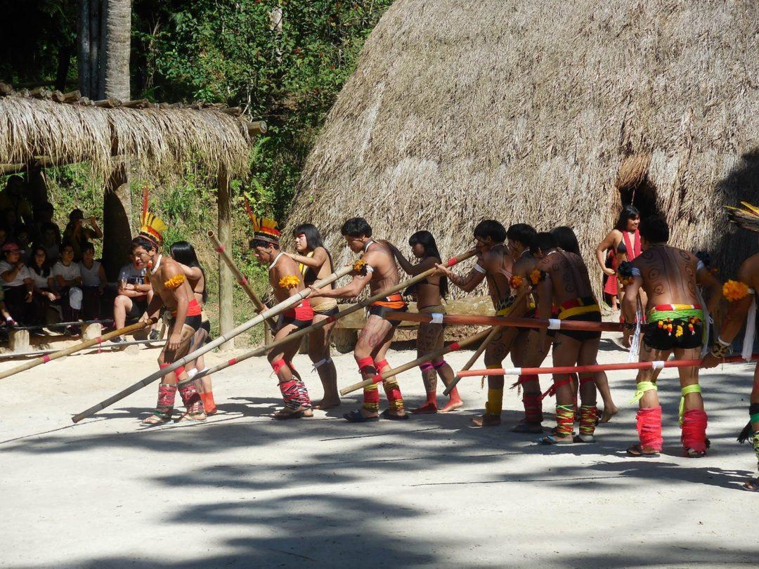 Intercâmbio Cultural – Índios do Xingú – período de abril a maio