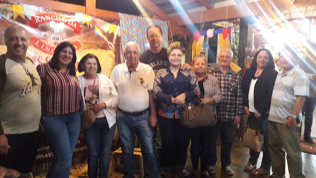 Amigos da PHYLOS Arraiá do Rancho da Linguiça